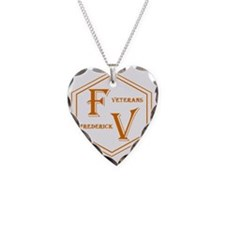 Fredvet Logo Trans copy.gif Necklace Heart Charm