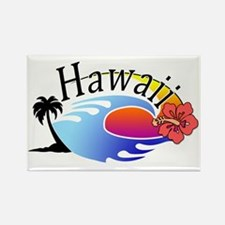 hawaii_stroked Rectangle Magnet