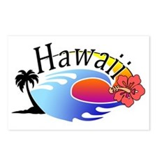 hawaii_stroked Postcards (Package of 8)
