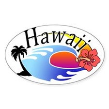hawaii_stroked Bumper Stickers