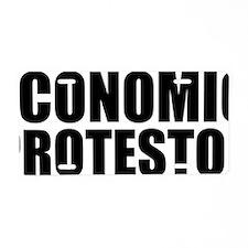 Economic protestor Aluminum License Plate