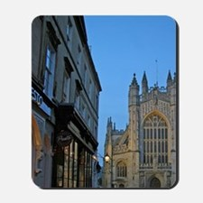 Bath, England. The beautiful Bath Abbey. Mousepad