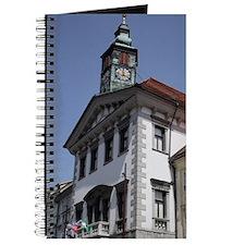 Slovenia. Ljubljana Old Town. Mestni Trg S Journal