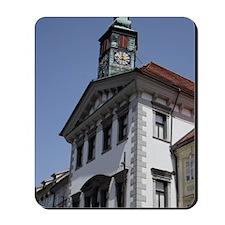 Slovenia. Ljubljana Old Town. Mestni Trg Mousepad
