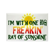 ray-sunshine-ddz Rectangle Magnet