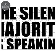 Silent majority speaking Puzzle