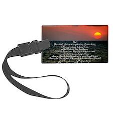 sunrise serenity Luggage Tag