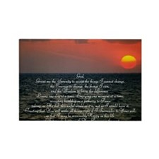 sunrise serenity Rectangle Magnet
