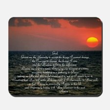 sunrise serenity Mousepad