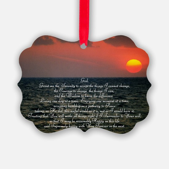 sunrise serenity Ornament