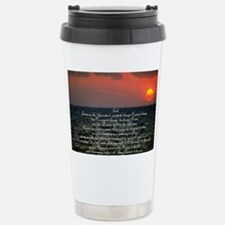 sunrise serenity Stainless Steel Travel Mug