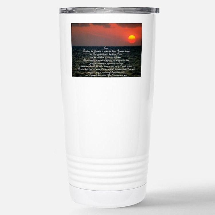 sunrise serenity Thermos Mug