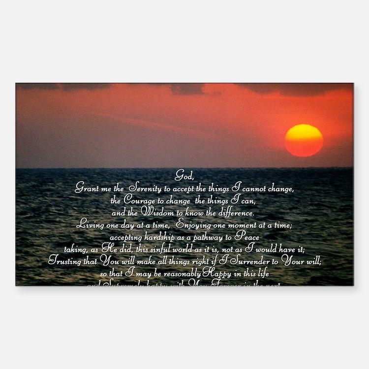 sunrise serenity Decal