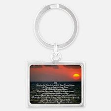 sunrise serenity Landscape Keychain