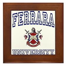 FERRARA University Framed Tile