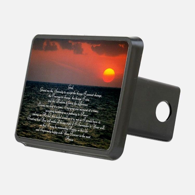 sunrise serenity Hitch Cover
