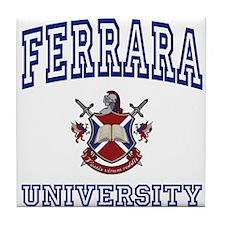 FERRARA University Tile Coaster