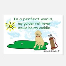 GoldenRetriever Postcards (Package of 8)