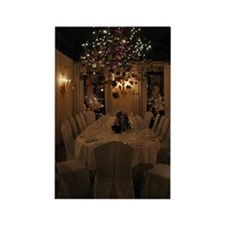 Christmas dining room Rectangle Magnet