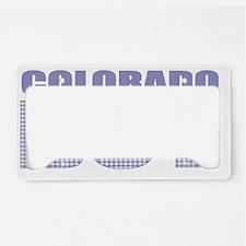 COLORADO License Plate Holder