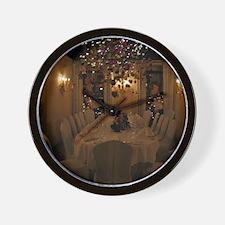 Christmas dining room Wall Clock