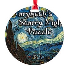 Marybeths Round Ornament