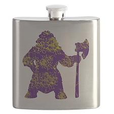vikingsyellowpurpe Flask