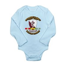 68th Medical Group w SVC Ribbon Long Sleeve Infant