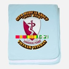 68th Medical Group w SVC Ribbon baby blanket