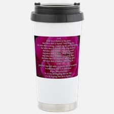 St Fancis Stainless Steel Travel Mug