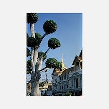 Grand Palace Chakri Mahaprasat Ma Rectangle Magnet
