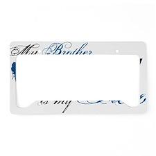 bro License Plate Holder
