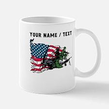 Custom American Soldiers Mugs