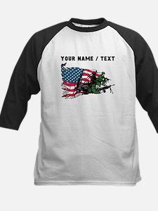 Custom American Soldiers Baseball Jersey