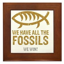 FossilsNew Framed Tile