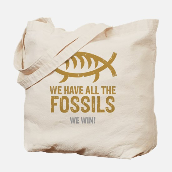 FossilsNew Tote Bag