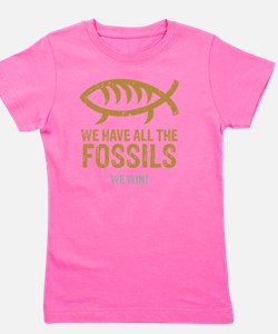 FossilsNew Girl's Tee