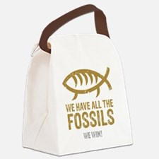 FossilsNew Canvas Lunch Bag