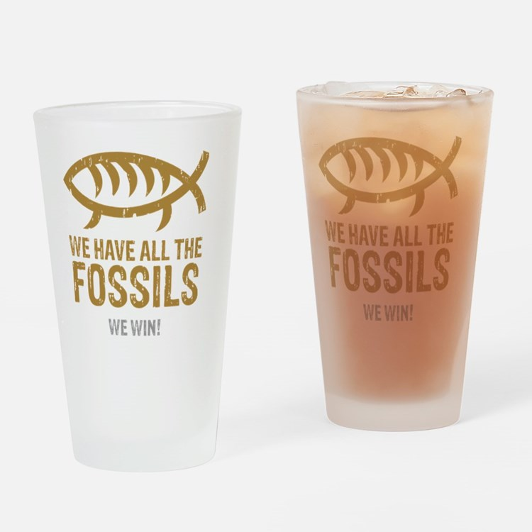 FossilsNew Drinking Glass