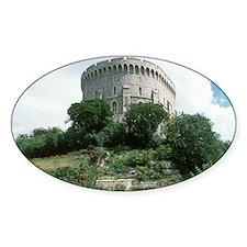Windsor Castle, Windsor. Round Towe Decal