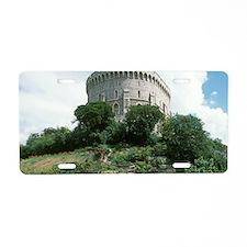 Windsor Castle, Windsor. Ro Aluminum License Plate