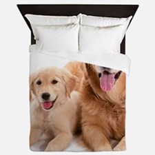 Kozzi-Dog-Buddies-7240x5433 Queen Duvet