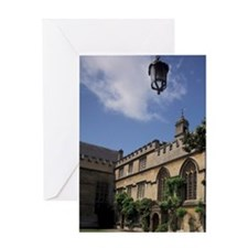 EUROPE, England, Oxford University Greeting Card