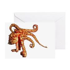 octo-shirt Greeting Card