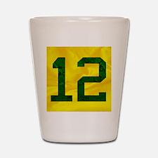 12onyellow Shot Glass