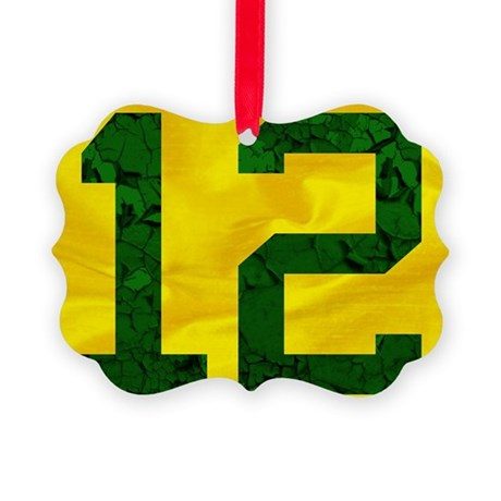 12onyellow Picture Ornament