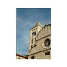 Croatia, Zadar, St. Mary's church Rectangle Magnet