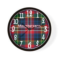Macpherson Clan Wall Clock