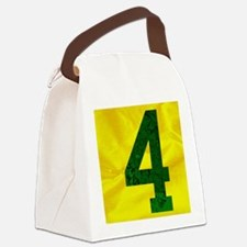 4 wallet Canvas Lunch Bag