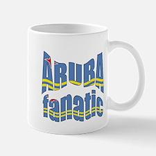 Flag of Aruba sports Mug